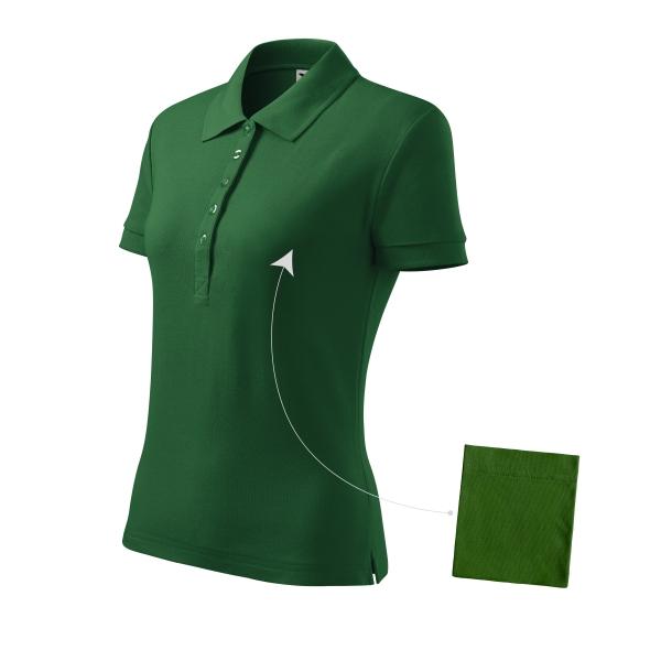 Cotton koszulka polo damska