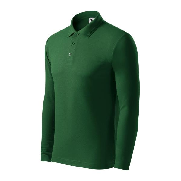 Pique Polo LS koszulka polo męska