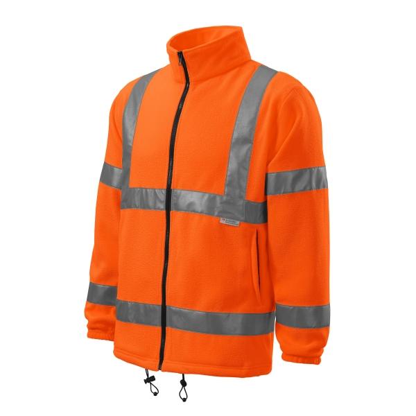 HV Fleece Jacket polar unisex fluorescencyjny