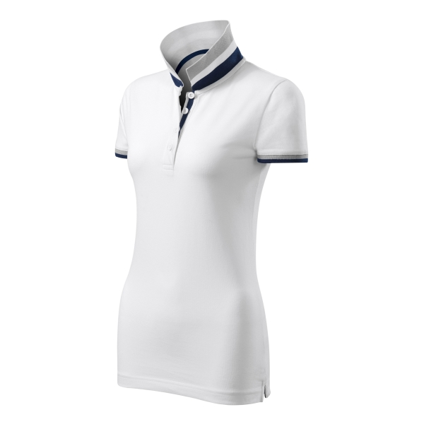 Collar Up koszulka polo damska