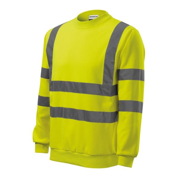 HV Essential bluza unisex fluorescencyjny