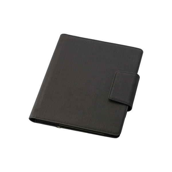 Teczka konferencyjna A5, power bank 5000 mAh, stojak na tablet, notatnik, kabel 2 w 1