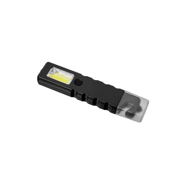 Latarka bezpieczeństwa 4 COB LED, przecinak do pasów, młotek bezpieczeństwa