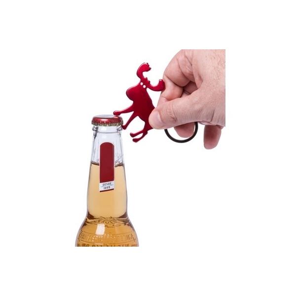 """Brelok do kluczy, otwieracz do butelek """"łoś"""""""
