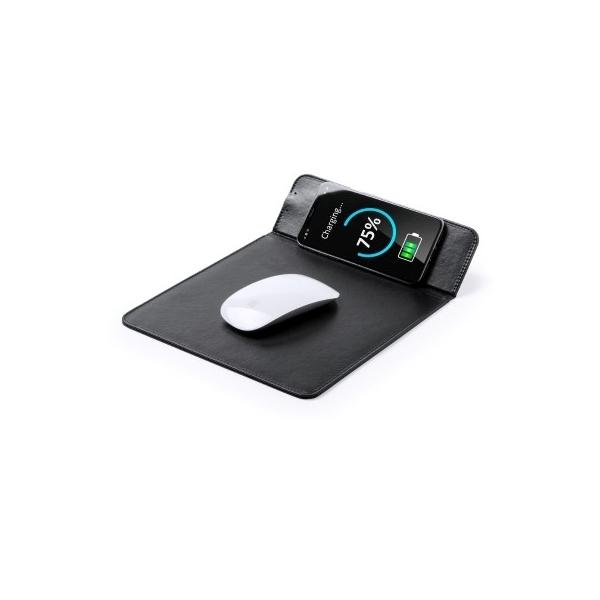 Podkładka pod mysz, bezprzewodowa ładowarka do telefonu