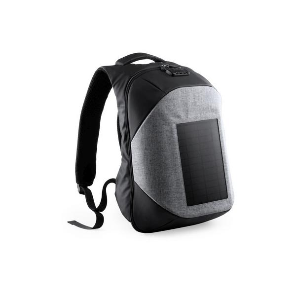 Plecak na laptopa i tablet, ładowarka słoneczna
