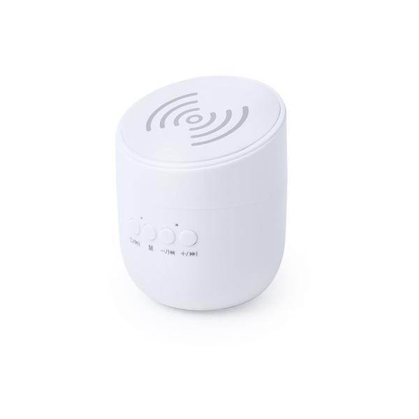 Głośnik bezprzewodowy 3W, ładowarka bezprzewodowa
