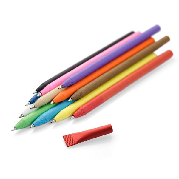 Długopis papierowy PINKO